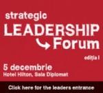 stategic leadership forum