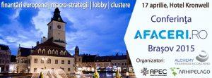 Cover conferinta Afaceri.ro Brasov 2015