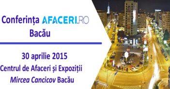 Conferinta Afaceri ro Bacau Aprilie 2015