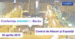 Imagine Conferinta Afaceri.ro Bacau 2015