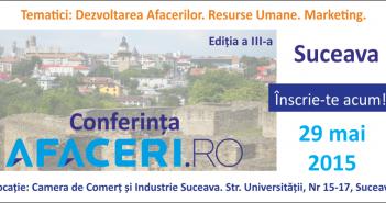 Banner Afaceri.ro Suceava (2015) - CCI