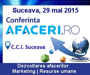 Banner Conferinta Afaceri.ro Suceava 2015 300x250 px