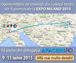 Banner Invest in NE Romania - Expo Milano