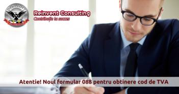 cod de TVA formular 088 Reinvent Consulting (2)