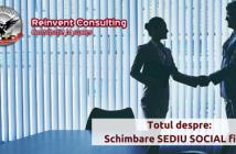 schimbare sediu social -Reinvent-Consulting