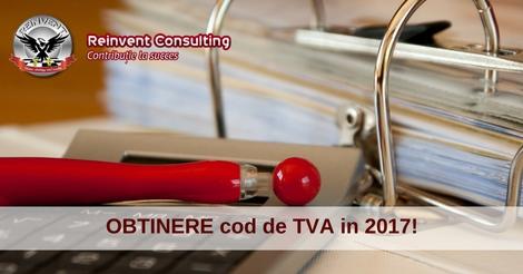 cod de TVA in 2017, Reinvent Consulting
